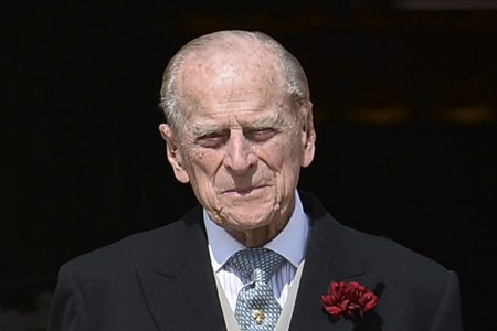 Hospitalized Prince Philip is in 'good form,' says daughter Princess Anne