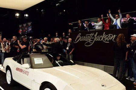 A unique Chevrolet Corvette heads to auction again at Barrett-Jackson