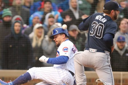 Cubs rally past Braves with 9-run 8th — on just 3 hits