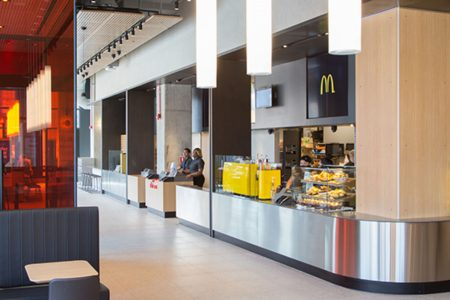 Where to get a McDonald's McSpicy sandwich or McFlurry Prestígio in the US
