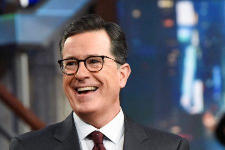 Stephen Colbert savages Kanye West-Trump Twitter 'bro fest'