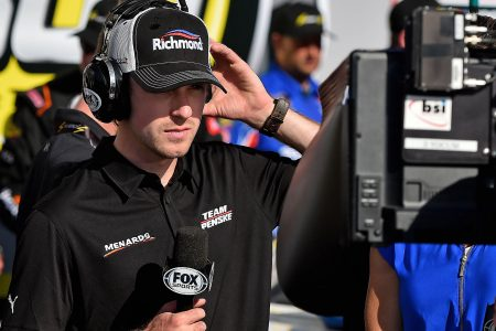 NASCAR Cup drivers get turn in Fox booth for Xfinity race at Talladega