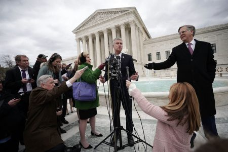 Supreme Court divided on whether states should tax all online sales