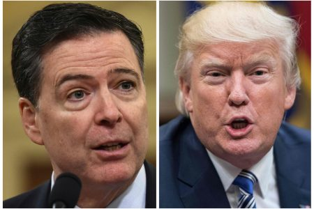 'Untruthful slime ball': Trump blasts Comey as details emerge from scathing book