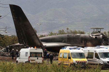 Algerian military transport plane crashes, killing 257 people