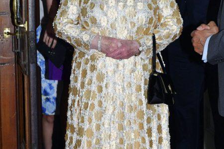 Queen Elizabeth II attends pop concert for 92nd birthday