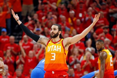 NBA playoffs: Jazz race past OKC; Wolves on the board; Pelicans sweep Blazers; 76ers win ugly