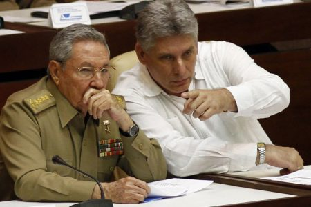 Young party official faces test as Cuba's next president
