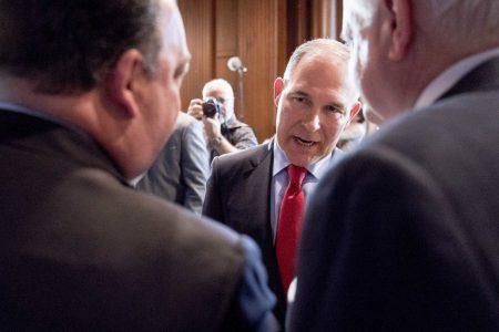 Top government ethics official demands EPA probe Pruitt's ethics controversies