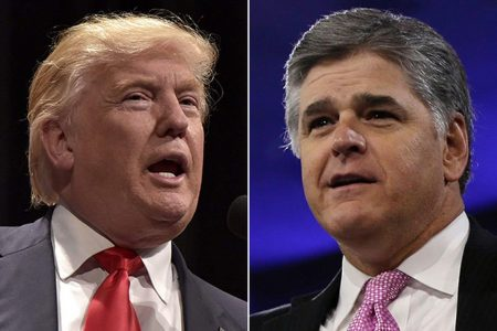 Hannity's rising role in Trump's world: 'He basically has a desk in the place'