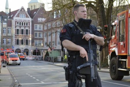 The Latest: Merkel offers condolences to Muenster victims