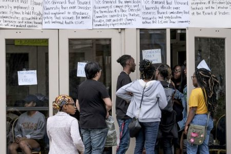 Howard University students end occupation of administration building