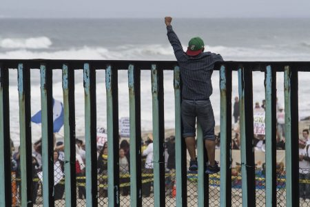 At end of migrant caravan on US border, families fear what comes next