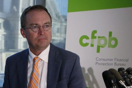 'I have not burned the place down': Trump appointee defends his leadership of consumer watchdog