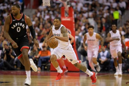 Wizards rediscover Deathrow DC persona, brush off Raptors to win Game 3, 122-103