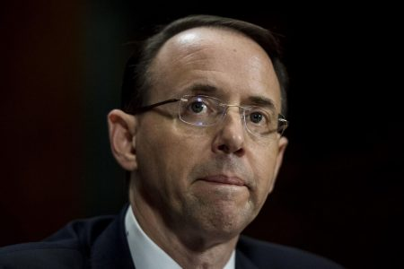 Trump allies press Rosenstein in private meeting in latest sign of tensions