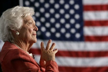 After calling Barbara Bush an 'amazing racist,' a professor taunts critics: 'I will never be fired'