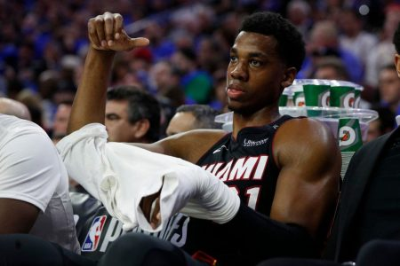 2018 NBA playoffs live: What will the Heat do with Hassan Whiteside?
