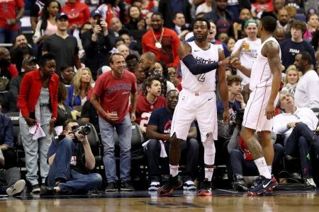 NBA playoffs live updates: John Wall wasn't going to let the Wizards lose Game 4