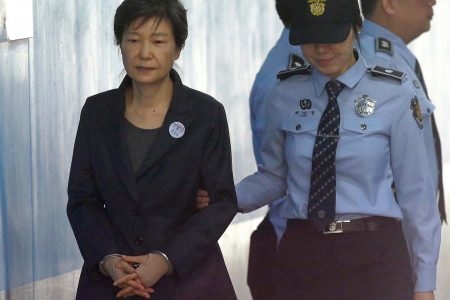 Disgraced former South Korean president gets 24 years in prison on corruption charges