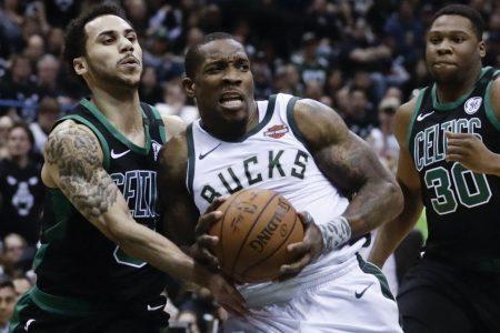 NBA playoffs live updates: Bucks take a big lead into halftime of Game 4 versus Celtics