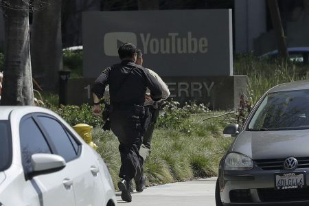 Woman with gun opened fire at YouTube, wounding three before killing herself, officials say