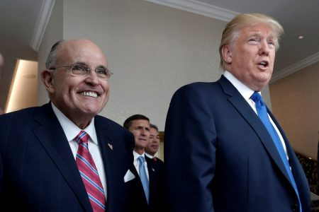 Trump hires Giuliani, two other attorneys amid mounting legal turmoil over Russia