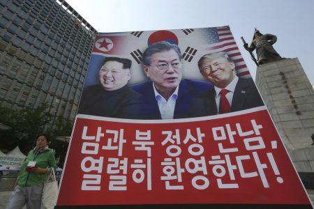 Trump should get the Nobel Peace Prize for North Korea talks, Moon says