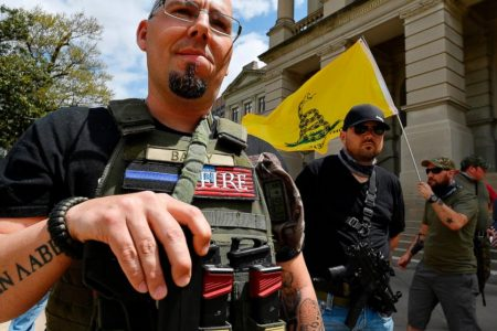 Gun rights advocates rally at state capitols across US