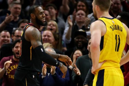 NBA playoffs live: Jazz struggling out of the gate vs. Rockets; Cavaliers survive Game 7 to advance