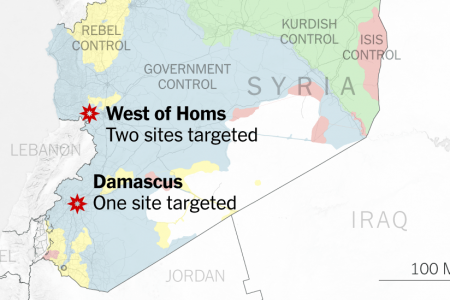 What We Know About the Three Sites Targeted in Syria