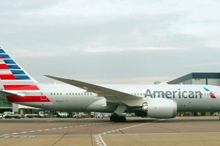 An American Airlines passenger said police were called on her 'for flying while fat & black'