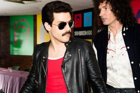 Rami Malek takes the stage as Freddie Mercury in first Bohemian Rhapsody footage