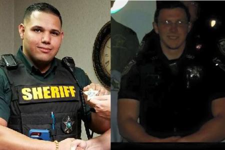 Shooter fires through restaurant window, kills 2 deputies in Trenton, Florida