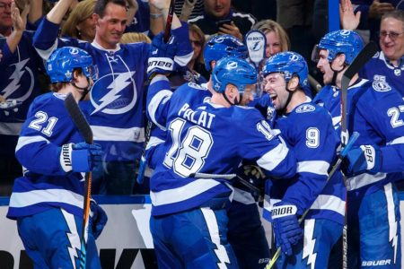 Other Lightning line makes difference in Game 1 against Devils
