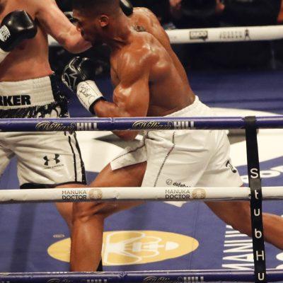 Anthony Joshua wins unanimous decision vs. Joseph Parker to unify heavyweight titles