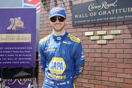 Alexander Rossi creating familiar feeling at Grand Prix of Long Beach