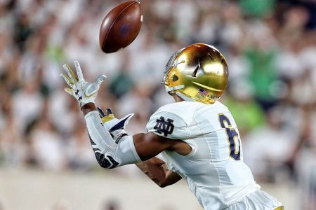 Packers draft Notre Dame's Equanimeous St. Brown in sixth round