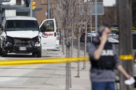 Suspect in Toronto van attack charged with murder, attempted murder after 10 die