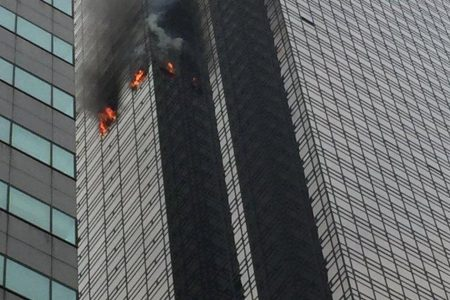 Fire at Trump Tower leaves 1 civilian dead, 6 firefighters with minor injuries