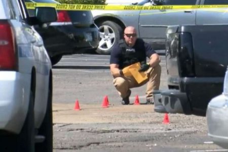 Arkansas police officer killed by stray bullet while in his home
