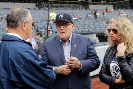 For Giuliani (Boo!), Yankee Stadium Is No Longer a Safe Space
