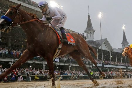 Justify Wins Kentucky Derby, Conquering Rain, Mud and a 136-Year Curse