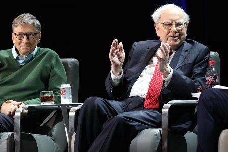 Bitcoin almost broke through the $10000 mark—then Warren Buffett and Bill Gates came along
