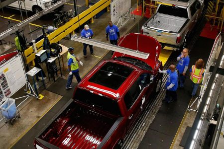 Ford could reopen two US truck plants next Friday