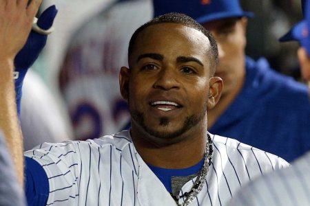 New York Mets' Yoenis Cespedes loses some diamonds in slide at second base