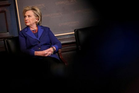 Hillary Clinton goes after 'reality TV' Trump in New Zealand speech