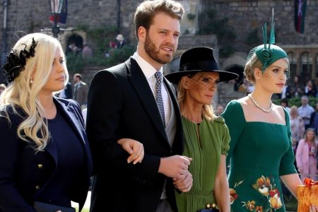 Prince Harry's young, single cousin turns heads at the royal wedding