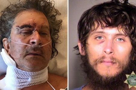 Oregon man stabbed 17 times after telling homeless man to move, daughter says