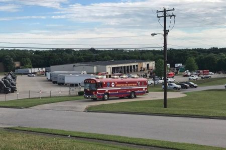 'Large explosion' at Kentucky UPS facility leaves 2 with non-life threatening injuries, officials say
